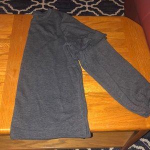 OLD NAVY ruffle sleeve sweatshirt